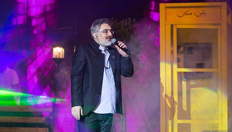نخستین کنسرت مسعود صابری در برج میلاد برگزار شد