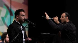 خاطره بازی ارکستر ساز های ملی ایران در جشنواره موسیقی