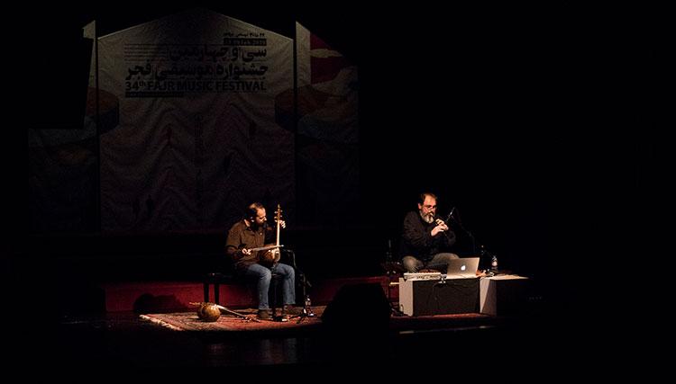 دو نوازی بعلاوه یک – دودوک و کمانچه در چهارمین شب جشنواره موسیقی فجر