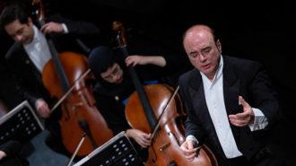 کنسرت ارکستر مجلسی ایران در جشنواره فجر/ آرشهها، نتهای والس احساس را نواختند