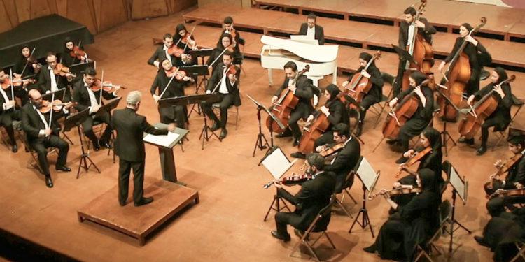 کنسرت ارکستر زهی آرکو در دومین شب از فستیوال موسیقی فجر ۳۴