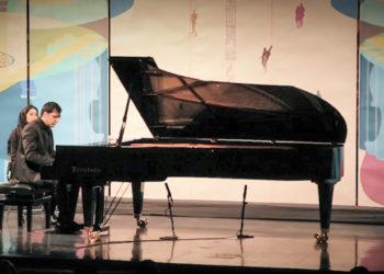 تکنوازی پیانو هوشیار خیام در ششمین شب از فستیوال موسیقی فجر