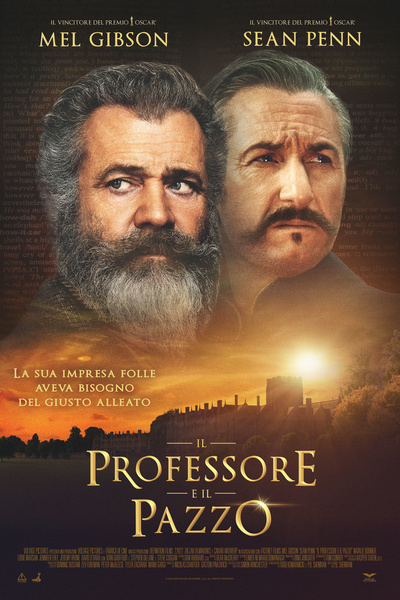 دانلود فیلم سینماییThe Professor and the Madman 2019 ( پروفسور و مرد دیوانه 2019)با دوبله فارسی + لینک زبان اصلی