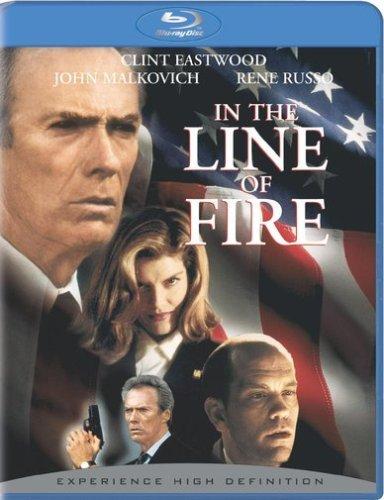 کاور فیلمدر خط آتش ۱۹۹۳ با هنرمندیClint Eastwood