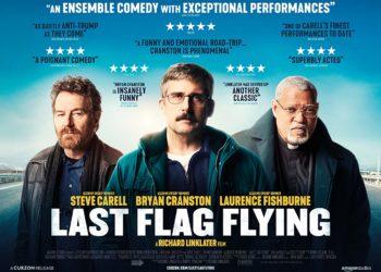 کاور فیلمLast Flag Flying 2017 با بازیلارنس فیشبورن