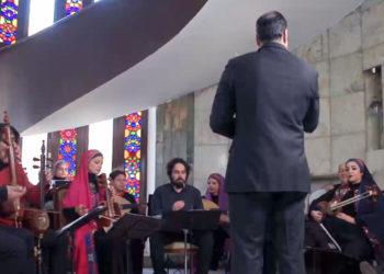 موزیک ویدیوی ریتم های رقص آذربایجان از ارکستر سازهای ملی ایران
