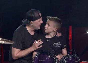 کادوی تولد گروه متالیکا به پسربچه ۱۳ساله!