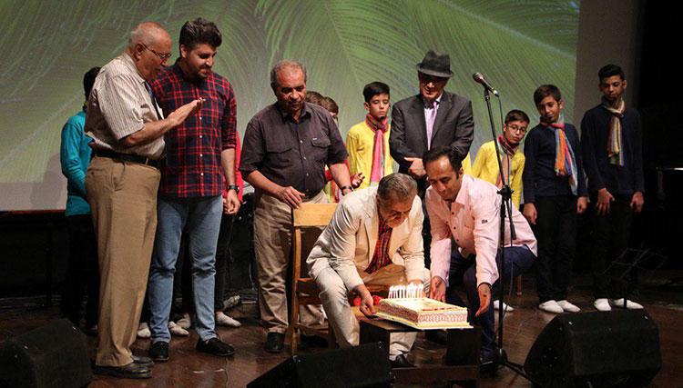 اولین هزارصدای کودک و نوجوان با جشن تولد مصطفی رحماندوست برگزار شد