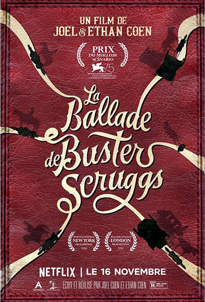 کاور فیلمThe Ballad of Buster Scruggs 2018