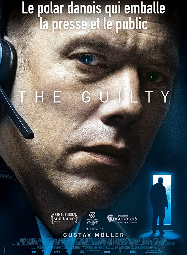 کاور فیلم The Guilty 2018