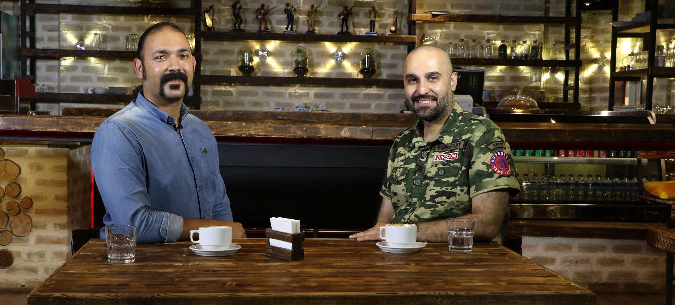 مصاحبه نیما رئیسی