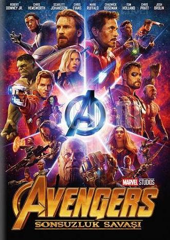 کاور فیلمAvengers Infinity War 2018