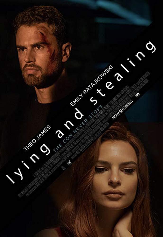 کاور فیلمLying and Stealing 2019