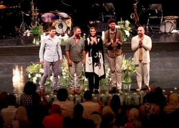 گزارش ویدیویی از کنسرت گروه بین المللی آریفا و نوشه